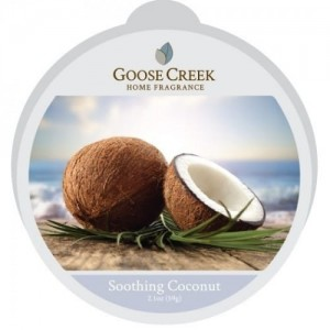 Wosk zapachowy SOOTHING COCONUT Goose Creek Candle