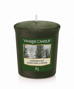 Yankee Candle Sampler EVERGREEN MIST