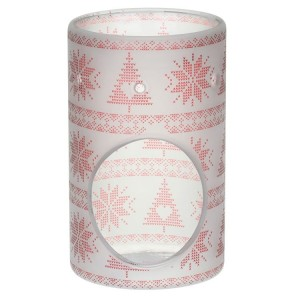 Yankee Candle Kominek zapachowy RED NORDIC FROSTED GLASS