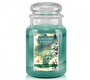 Country Candle Świeca  duża TINSEL THYME