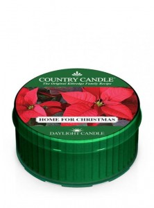 Country Candle Daylight HOME FOR CHRISTMAS