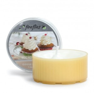 Goose Creek Candle Fireflies EGG NOG ICING
