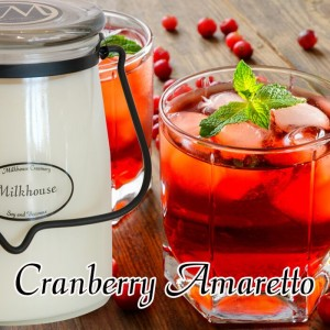 Milkhouse Candle Wosk zapachowy CRANBERRY AMARETTO