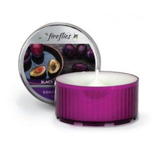 Goose Creek Candle Fireflies BLACK AMBER PLUM