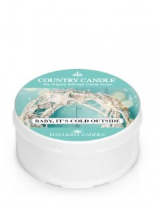 Country Candle Daylight BABY IT'S COLD OUTSIDE
