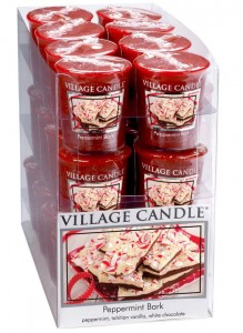 Village Candle Sampler PEPPERMINT BARK