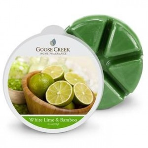 Wosk zapachowy WHITE LIME & BAMBOO  Goose Creek Candle