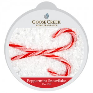 Wosk zapachowy PEPPERMINT SNOWFLAKE Goose Creek Candle