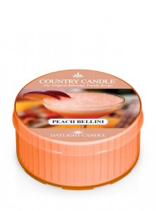 Daylight PEACH BELLINI Country Candle