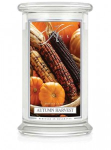 Duża świeca Dwuknotowa AUTUMN HARVEST Kringle Candle