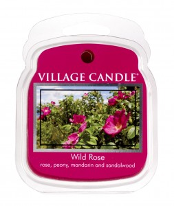 Wosk zapachowy Village Candle WILD ROSE