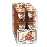 Village Candle Sampler GINGERBREAD HOUSE