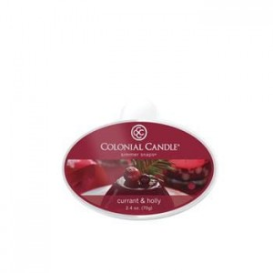 Colonial Candle Wosk zapachowy CURRANT & HOLLY