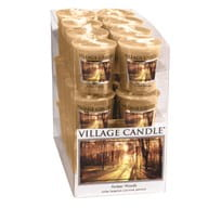 Village Candle Sampler AMBER WOODS