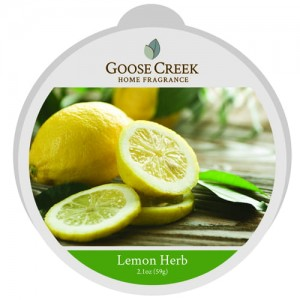 Wosk zapachowy LEMON HERB Goose Creek Candle