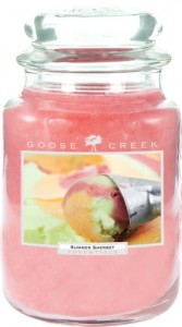 OUTLET Świeca zapachowa duża SUMMER SHERBET Goose Creek Candle
