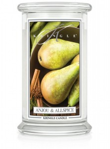 Kringle Candle Świeca duża ANJOU & ALLSPICE