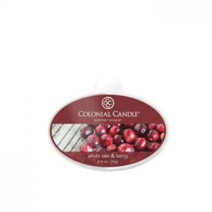 Colonial Candle Wosk zapachowy WHITE OAK & BERRY