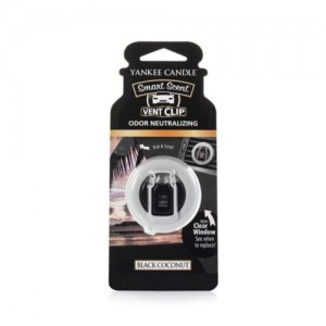 Car vent clip BLACK COCONUT Yankee Candle