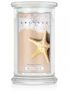 Duża świeca Dwuknotowa BEACHSIDE Kringle Candle