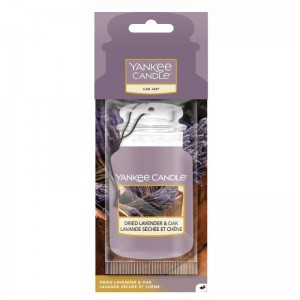 Yankee Candle Zawieszka do auta DRIED LAVENDER & OAK