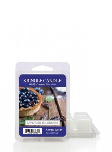Kringle Candle Wosk LAVENDER BLUEBERRY