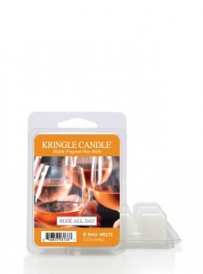 Kringle Candle Wosk ROSE ALL DAY