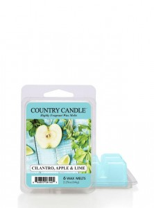Country Candle Wosk CILANTRO APPLE & LIME