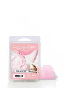 Country Candle Wosk BLUSHBERRY FROSE