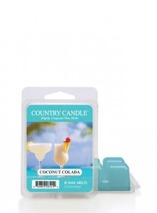 Country Candle Wosk COCONUT COLADA