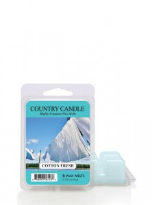 Country Candle Wosk COTTON FRESH