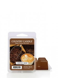 Country Candle Wosk COFFEE SHOP
