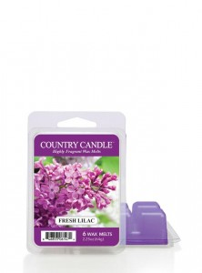 Country Candle Wosk FRESH LILAC