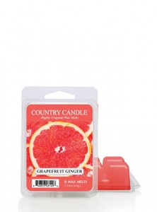 Country Candle Wosk GINGER GRAPEFRUIT
