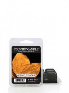 Country Candle Wosk GOLDEN TOBACCO