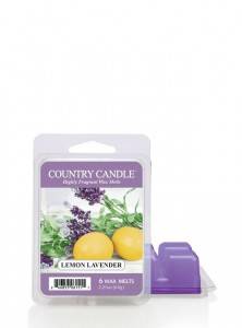 Country Candle Wosk LEMON LAVENDER
