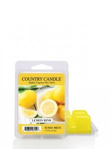 Country Candle Wosk LEMON RIND