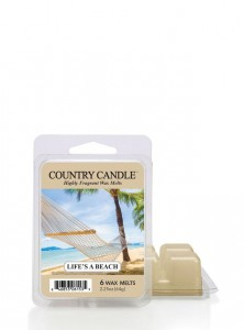 Country Candle Wosk LIFE'S BEACH