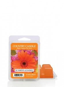 Country Candle Wosk SUNSHINE DAISIES