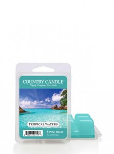 Country Candle Wosk TROPICAL WATERS