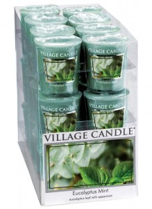 Village Candle Sampler EUCALYPTUS MINT