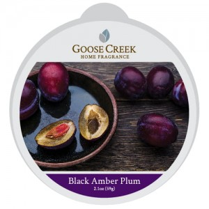 Wosk zapachowy BLACK AMBER PLUM Goose Creek Candle