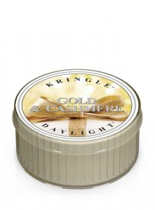 Daylight GOLD & CASHMERE Kringle Candle