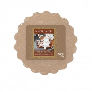 Yankee Candle Wosk zapachowy ICED GINGERBREAD