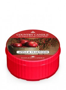 Daylight APPLE & TEAKWOOD Country Candle