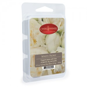 Candle Warmers Wosk zapachowy WHITE PEONY