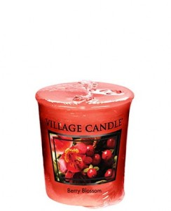 Village Candle Sampler BERRY BLOSSOM
