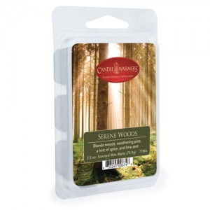 Candle Warmers Wosk zapachowy SERENE WOODS