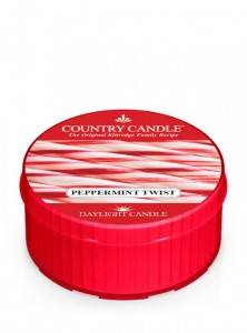 Country Candle Daylight PEPPERMINT TWIST