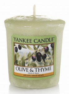 Yankee Candle Sampler OLIVE & THYME